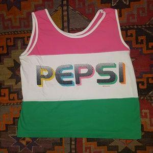 Vintage Pepsi Cropped Tank